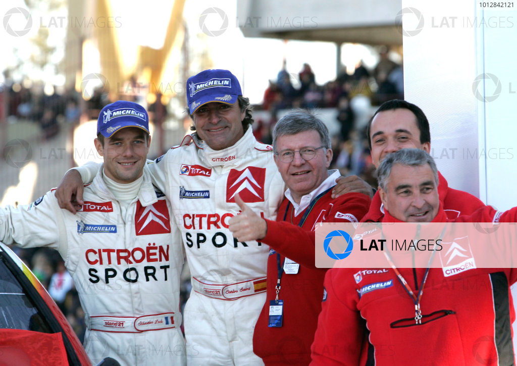 2004 FIA World Rally Championship, Round 8Rally Argentina. 15th-18th July 2004Carlos Sainz, Citreon, PodiumWorld Copyright: McKlein/LAT Photographic
