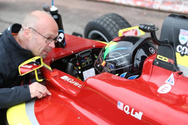 2016 BRDC Formula Three Championship, 11th-12th June 2016, SIlverstone, UK, Quinlan Lall (USA) Chris Dittmann Racing BRDC F3  World copyright. Ebrey/LAT Photographic