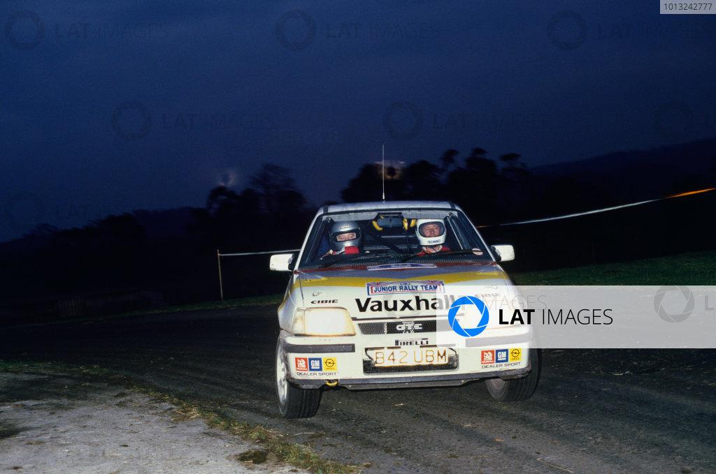 1985 RAC Open Rally Championship.