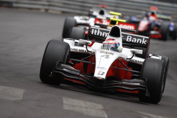 2008 GP2 Series. Round 3. Friday Race. Monte-Carlo, Monaco. 24th May 2008.Romain Grosjean (FRA, ART Grand Prix). Action. World Copyright: Andrew Ferraro/GP2 Series Media Service.ref:__H0Y6550 jpg