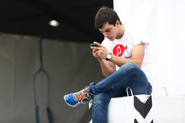 2014 GP3 Series. Round 8.   Sochi Autodrom, Sochi, Russia.  Wednesday 8 October 2014. Santiago Urrutia (URU, Koiranen GP)  Photo: Sam Bloxham/GP3 Series Media Service. ref: Digital Image _SBL5925