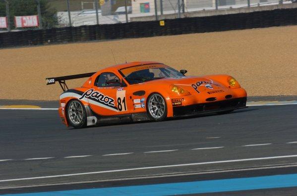 2007 Le Mans Test Day2nd and 3rd June 2007.Le Mans, France.Sunday Test DayTom Kimber-Smith (GBR)/Danny Watts (GBR)/Tom Milner (USA) (no 81 Panoz Esperante GTLM) action.World Copyright: Jeff Bloxham/LAT Photographic. ref: Digital Image DSC_6864