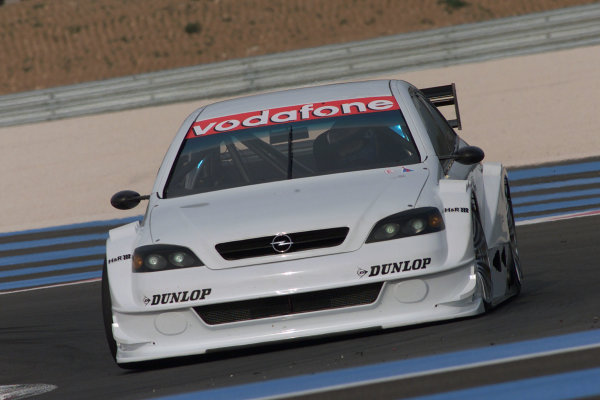 2002 DTM Testing