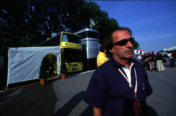 1998 San Marino Grand Prix.Imola, Italy.24-26 April 1998.Jacques Laffite.Ref-L2A 01.World Copyright - LAT Photographic