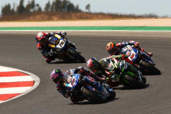 Alex Lowes, Pata Yamaha, Leon Haslam, Kawasaki Racing Team, Michael van der Mark, Pata Yamaha.