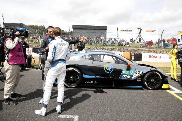 Ferdinand Habsburg, R-Motorsport with Matthias Killing, Sat1-TV.