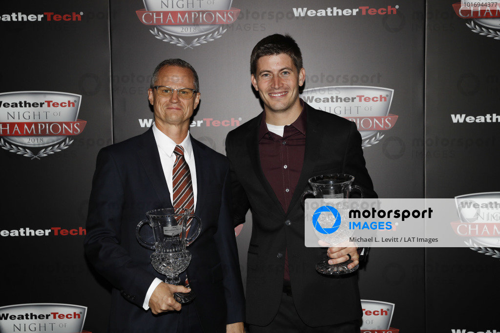 2018 WeatherTech Night of Champions, #54 CORE autosport ORECA LMP2, P: Jon Bennett, Colin Braun,