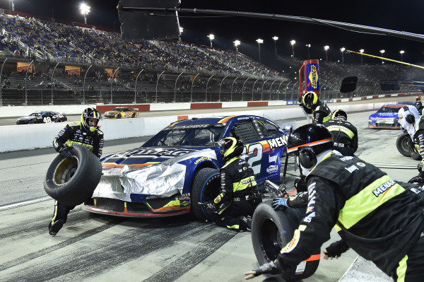 #12: Ryan Blaney, Team Penske, Ford Mustang Menards/Maytag