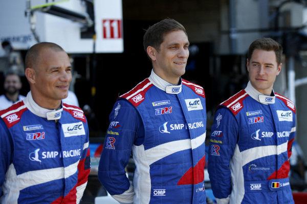 #11 SMP Racing BR Engineering BR1: Vitaly Petrov, Stoffel Vandoorne, #17 SMP Racing BR Engineering BR1: Stéphane Sarrazin.