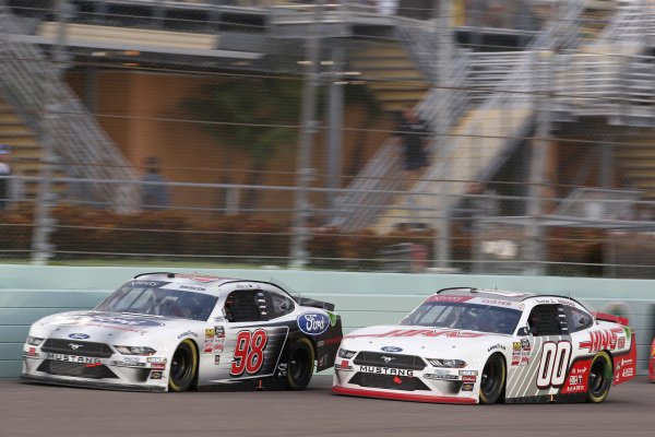 #00: Cole Custer, Stewart-Haas Racing, Ford Mustang Haas Automation #98: Chase Briscoe, Stewart-Haas Racing, Ford Mustang Ford Performance