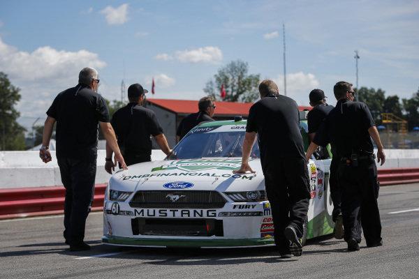 #61: Kaz Grala, Fury Race Cars LLC, Ford Mustang crew