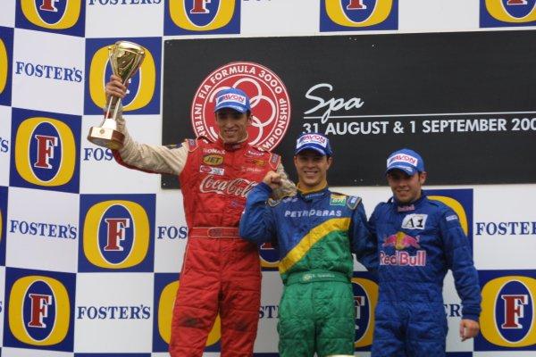 2001 F3000 Championship - RaceSpa - Francorchamps, Belgium. 1st September 2001World Copyright - Bellanca / LAT Photographicref: 8 9 MB Digital