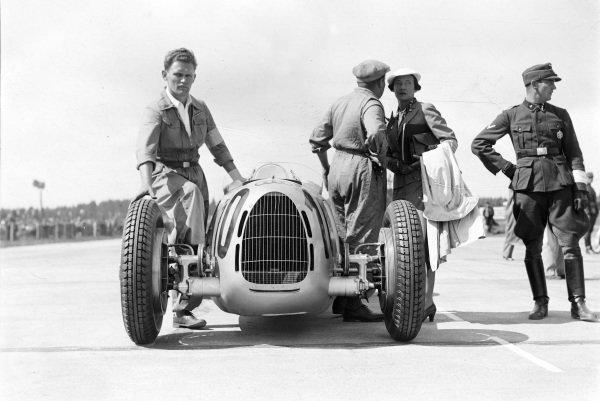Hans Stuck's Auto Union C.