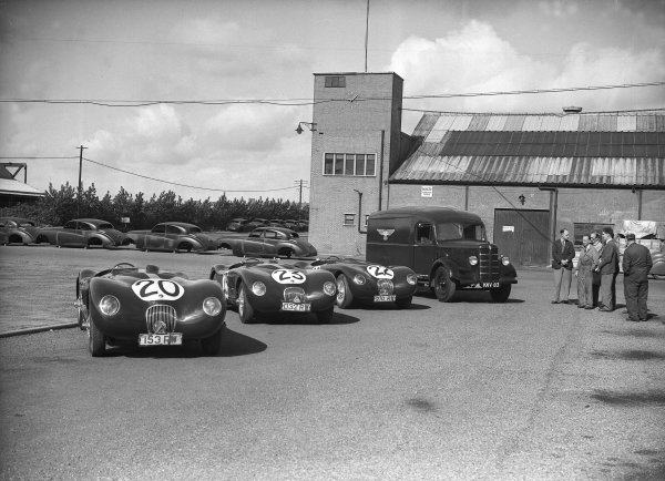 1951 Le Mans 24 hours.