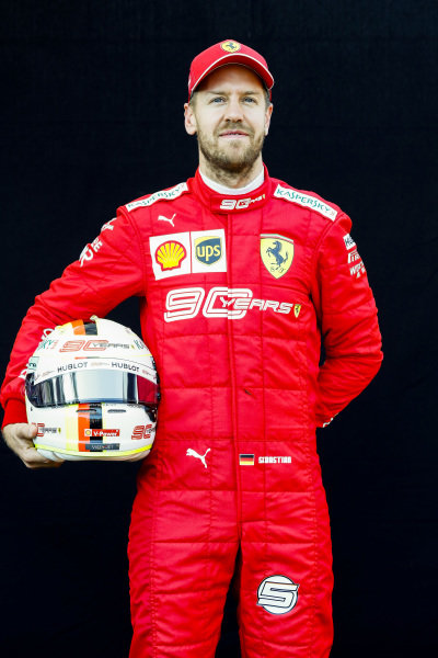 Official Portrait of Sebastian Vettel, Ferrari