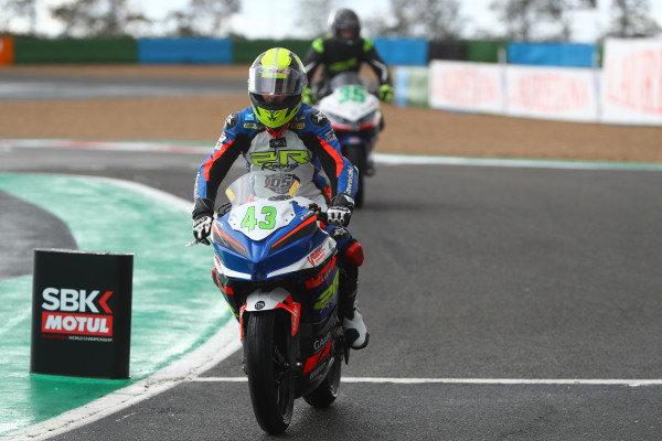 Marc Garcia, 2R Racing.