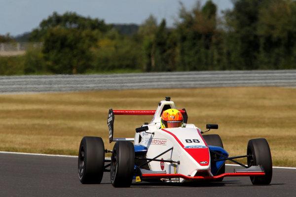 2014 MSA Formula Ford Championship of Great Britain, Snetterton, Norfolk. 1st - 3rd August 2014. Greg Holloway (GBR) SWB Motorsport Sinter. World Copyright: Ebrey / LAT Photographic.