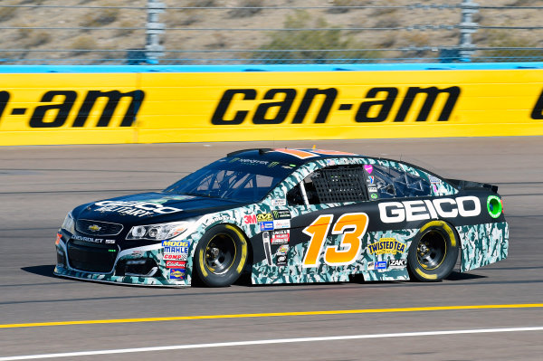 Monster Energy NASCAR Cup Series Can-Am 500 Phoenix Raceway, Avondale, AZ USA Friday 10 November 2017 Ty Dillon, Germain Racing, GEICO Military Chevrolet SS World Copyright: Nigel Kinrade LAT Images