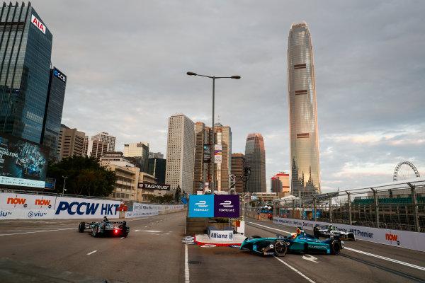 2017/2018 FIA Formula E Championship. Round 1 - Hong Kong, China. Saturday 02 December 2017.Oliver Turvey (GBR), NIO Formula E Team, NextEV NIO Sport 003. Photo: Sam Bloxham/LAT/Formula E ref: Digital Image _J6I3762