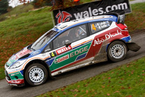 Round 13 - Wales Rally GB. 10th-13th November 2011.Jari-Matti Latvala, Ford, ActionWorldwide Copyright: McKlein/LAT