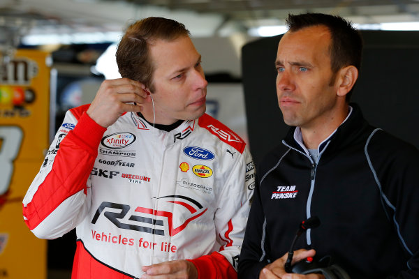 Monster Energy NASCAR Cup Series I LOVE NEW YORK 355 at The Glen Watkins Glen International, Watkins Glen, NY USA Saturday 5 August 2017 Brad Keselowski, Team Penske, Miller Lite Ford Fusion and Paul Wolfe World Copyright: Russell LaBounty LAT Images