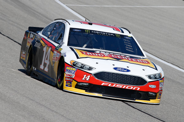 Monster Energy NASCAR Cup Series Tales of the Turtles 400 Chicagoland Speedway, Joliet, IL USA Friday 15 September 2017 Clint Bowyer, Stewart-Haas Racing, Rush Truck Centers Ford Fusion World Copyright: Brett Moist LAT Images