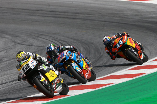 2017 Moto2 Championship - Round 11 Spielberg, Austria Sunday 13 August 2017 Thomas Luthi, CarXpert Interwetten World Copyright: Gold and Goose / LAT Images ref: Digital Image 687142