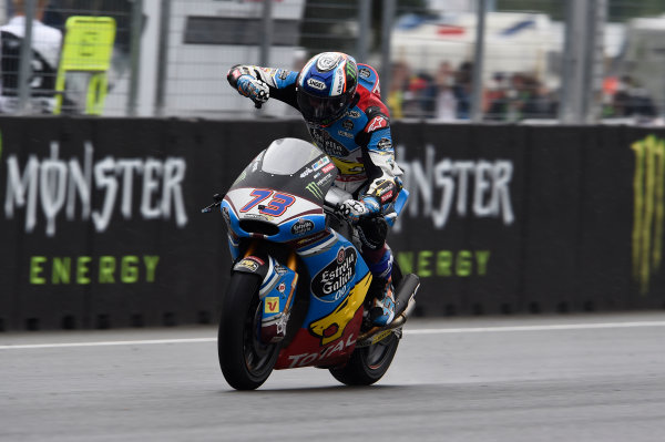 2017 Moto2 Championship - Round 10 Brno, Czech Republic Sunday 6 August 2017 Second place Alex Marquez, Marc VDS World Copyright: Gold and Goose / LAT Images ref: Digital Image 50870