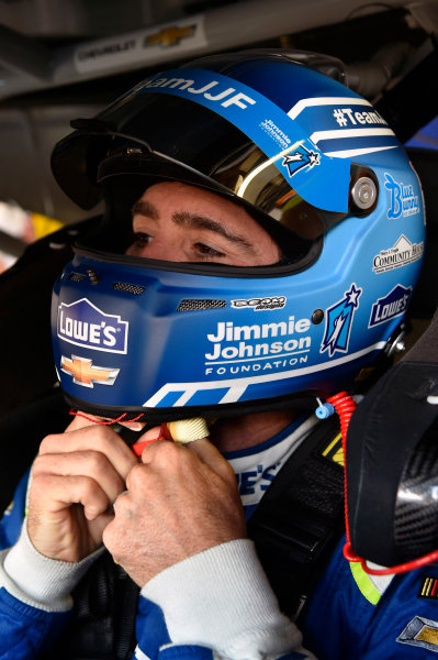 Monster Energy NASCAR Cup Series Pure Michigan 400 Michigan International Speedway, Brooklyn, MI USA Saturday 12 August 2017 Jimmie Johnson, Hendrick Motorsports, Lowe's-Jimmie Johnson Foundation Chevrolet SS World Copyright: Nigel Kinrade LAT Images