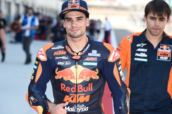 2017 Moto2 Championship - Round 14 Aragon, Spain. Saturday 23 September 2017 Miguel Oliveira, Red Bull KTM Ajo World Copyright: Gold and Goose / LAT Images ref: Digital Image 13877