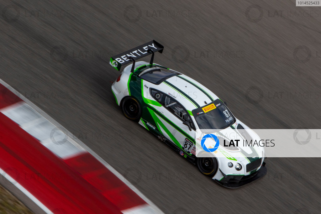 4-6 March, 2016, Austin, Texas USA #87 Bentley , Andrew Palmer ?2016, Brian Cleary LAT Photo USA