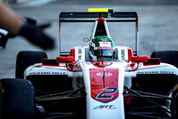 2016 GP3 Series Test 5. Yas Marina Circuit, Abu Dhabi, United Arab Emirates. Wednesday 30 November 2016. Nirei Fukuzumi (JPN, ART Grand Prix)  Photo: Zak Mauger/GP3 Series Media Service. ref: Digital Image _X0W1804