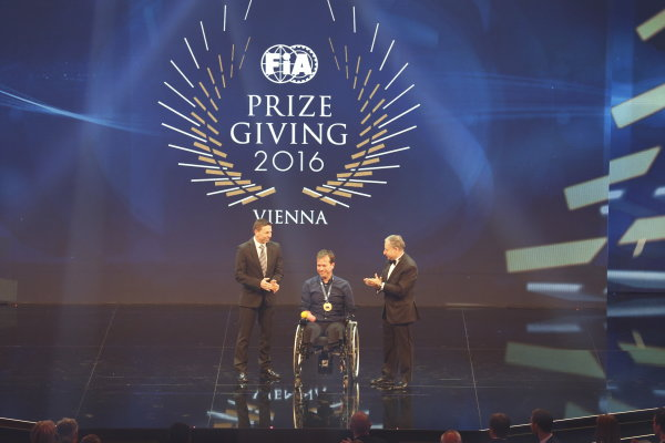 2016 FIA Prize Giving Vienna, Austria Friday 2nd December 2016 Photo: Copyright Free FOR EDITORIAL USE ONLY. Mandatory Credit: FIA ref: 30557881754_2ca803be7a_o