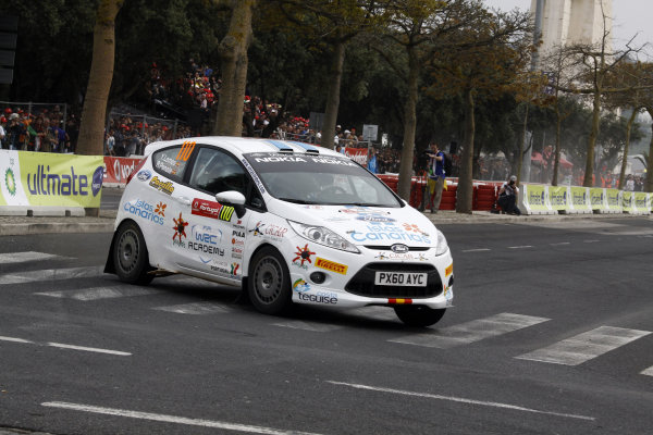Round 03-Rally Portugal. 23th-27th March 2011.Yves Lemes, Ford Fiesta R2, Action.Worldwide Copyright: McKlein/LAT