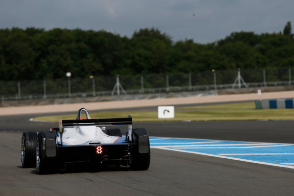 FIA Formula E Test Day, Donington Park, UK.  3rd - 4th July 2014.  Scott Speed, Andretti Autosport. Photo: Zak Mauger/FIA Formula E ref: Digital Image _L0U4493