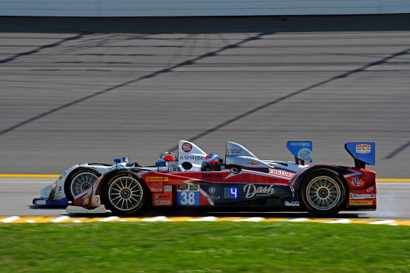6-7 June, 2014, Kansas City, Kansas USA 52, Chevrolet, ORECA FLM09, PC, Frankie Montecalvo, Gunnar Jeannette and 38, Chevrolet, ORECA FLM09, PC, David Ostella ?2014, F. Peirce Williams LAT Photo USA