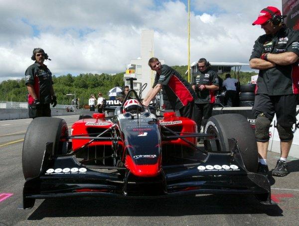 Dan Clarke (GBR) Minardi Team USA.  Champ Car World Series, Rd6, Mont Tremblant, Canada, 29 June - 1 July 2007.
