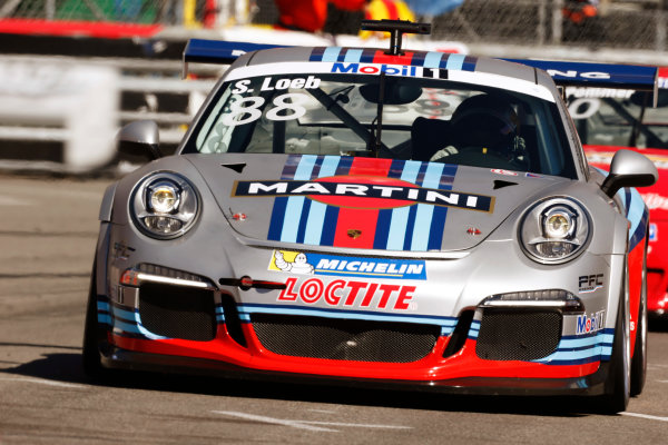 Monte Carlo, Monaco 26th May 2013 Sebastien Loeb, #88 Porsche AG.  World Copyright: Charles Coates/LAT Photographic ref: Digital Image _N7T9096