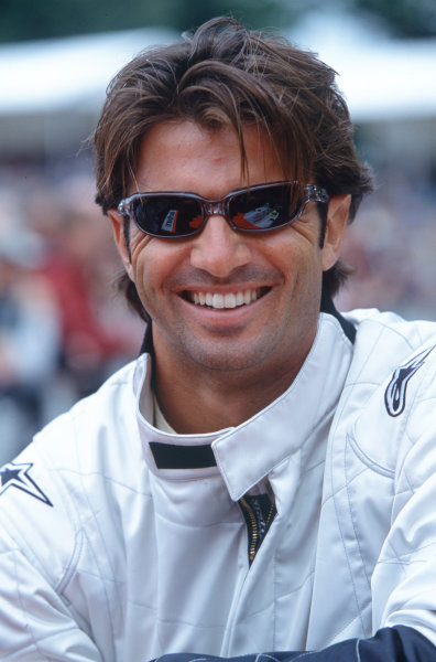 2004 Goodwood Festival of SpeedGoodwood House, Chichester, England. 25th - 27th June.Christian Fittipaldi.World Copyright: Jeff Bloxham/LAT Photographicref: 35mm Transparency Image.