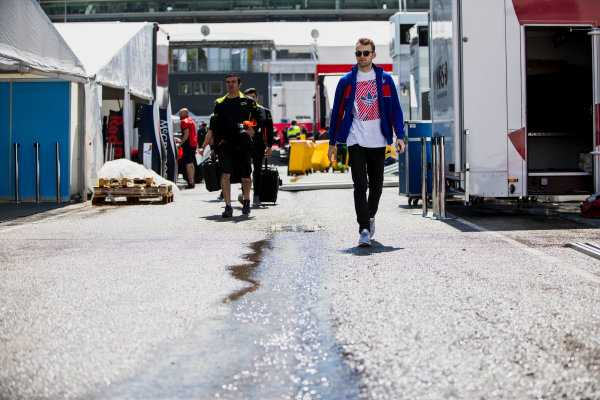 2017 GP3 Series Round 1.  Circuit de Catalunya, Barcelona, Spain. Thursday 11 May 2017. Ryan Tveter (USA, Trident) Photo: Zak Mauger/GP3 Series Media Service. ref: Digital Image _54I6824