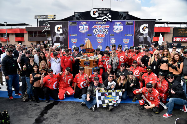 2017 Monster Energy NASCAR Cup Series Auto Club 400 Auto Club Speedway, Fontana, CA USA Sunday 26 March 2017Michael  Kyle Larson World Copyright: Rusty Jarrett/LAT Images ref: Digital Image 17FONrj_5525