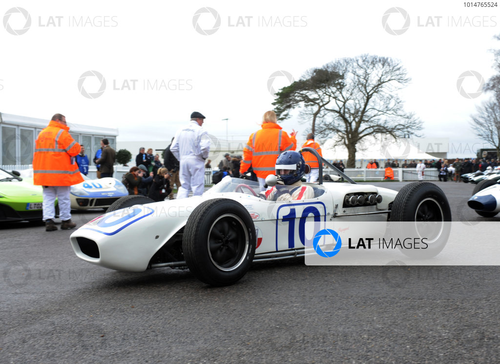 2017 75th Members Meeting Goodwood Estate, West Sussex,England 18th - 19th March 2017 Brabham Trophy Middlehurst Lotus 18 World Copyright : Jeff Bloxham/LAT Images Ref : Digital Image