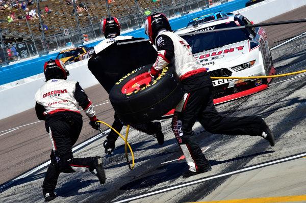 2017 NASCAR Xfinity Series DC Solar 200 Phoenix International Raceway, Avondale, AZ USA Saturday 18 March 2017 Ryan Blaney World Copyright: Rusty Jarrett/LAT Images ref: Digital Image 17PHX1rj_2331