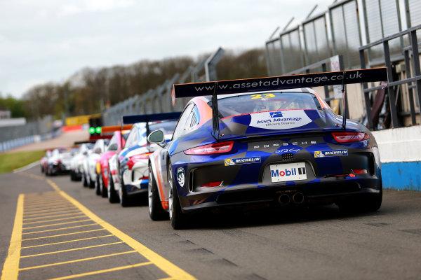 2017 Porsche Carrera Cup, Donington Park, 15th-16th April 2017, Iain Dockerill (GBR) Asset Advantage Racing Porsche Carrera Cup World Copyright. JEP/LAT Images