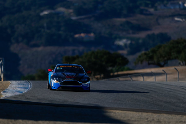 IMSA Continental Tire SportsCar Challenge Mazda Raceway Laguna Seca 240 Mazda Raceway Laguna Seca Monterey, CA USA Friday 22 September 2017 99, Aston Martin, Aston Martin Vantage, GS, Al Carter, Steven Phillips World Copyright: Jake Galstad LAT Images