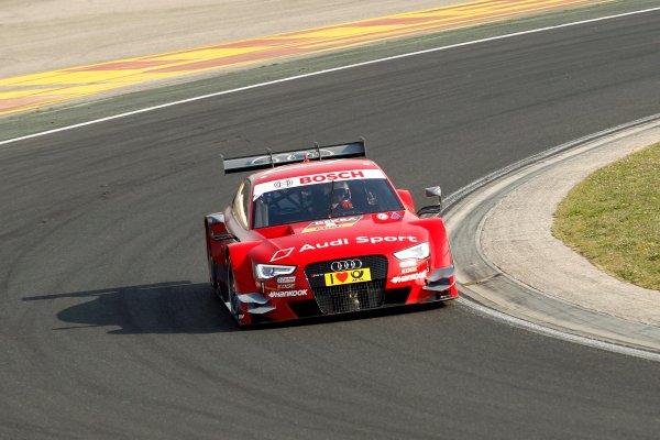 2014 DTM Testing. Hungaroring, Hungary. 31st March 2014. Miguel Molina (ESP) Audi Sport Team Abt Audi RS 5 DTM World Copyright: XPB / LAT Photographic. Ref: 3030969_HiRes.jpg