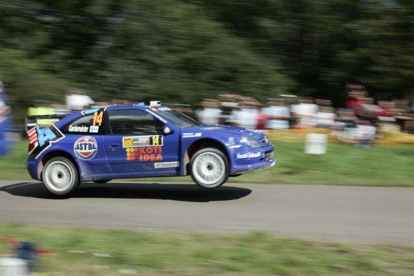 FIA World Rally Championship 2007Round 10Rally Deutschland, Germany.Trier, Germany.16th - 19th August 2007Toni Gardemeister, Citroen, action.Worldwide Copyright: McKlein/LAT