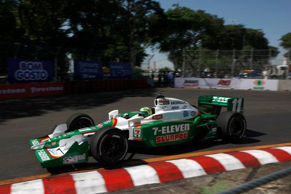 13-14 March 2010, Sao Paolo, Sao Paolo BrazilTony Kanaan.©2010 Phillip Abbott, USALAT Photographic