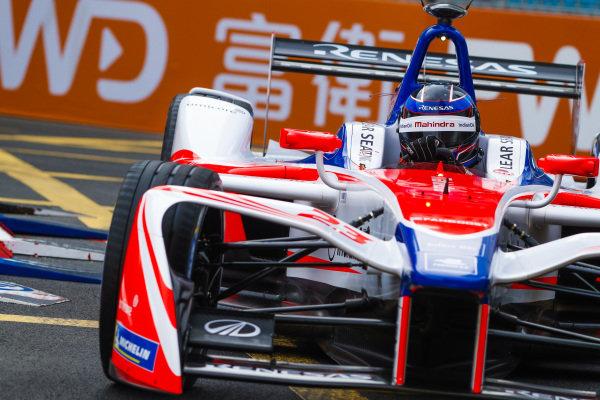 2017/2018 FIA Formula E Championship. Round 2 - Hong Kong, China. Sunday 03 December 2017. Nick Heidfeld (GER), Mahindra Racing, Mahindra M4Electro. Photo: Alastair Staley/LAT/Formula E ref: Digital Image _MGL7426