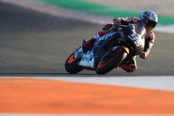 2017 MotoGP Championship - Valencia test, Spain. Tuesday 14 November 2017 Marc Marquez, Repsol Honda Team World Copyright: Gold and Goose / LAT Images ref: Digital Image 706888